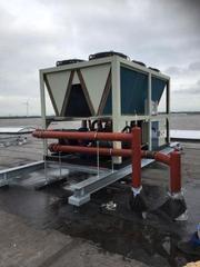 Экономия на горячей воде для ОСББ с тепловым насосом Folansi